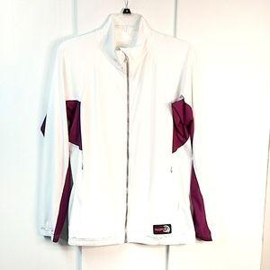 DuckSkinz 100% UV Protection White Jacket Large